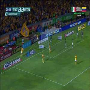 Tigres 1-0 Leon - André-Pierre Gignac 20' [Liga MX Clausura Final, Leg 1]