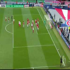 Neuer great split second save vs Leipzig