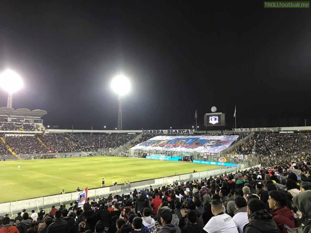 Colo Colo, Estadio Monumental. [25/05/19] vs Audax Italiano.