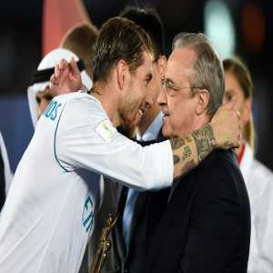 "Cadena SER: An extract of Florentino Perez and Sergio Ramos' meeting: ""Leaving on a free? If you are leaving I'll have to go sign a centreback, and it won't be cheap..."" ""You also said you will sign a replacement for Cristiano. You didn't, and we paid the price..."""