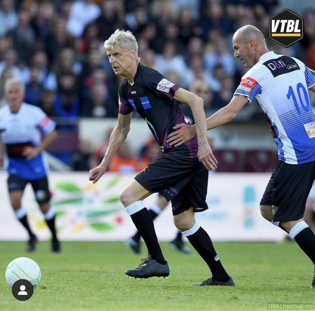 Wenger pocketing Zidane