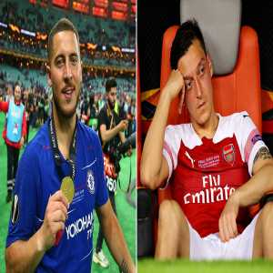 'It's nowhere near the club it once was… they have Eden Hazard and we have Mesut Ozil' Martin Keown bemoans Arsenal's fall from grace after embarrassing Europa League final defeat by Chelsea