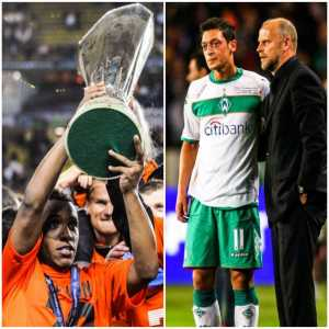 Throwback to 10 years ago in the UEFA Cup Final in Istanbul. Willian and Shakhtar Donetsk defeat Mesut Ozil and Werder Bremen 2-1 AET. They meet again tonight.