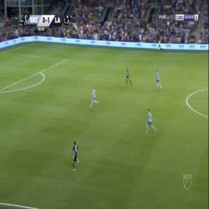 Sporting Kansas City 0-2 Los Angeles Galaxy - Zlatan Ibrahimovic 86'