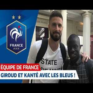 Giroud and Kanté joins the French NT after winning the Europa League