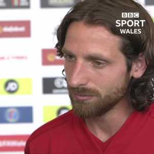 "Joe Allen on whether he is the Welsh Pirlo or the Welsh Xavi: ""Neither. I wish I was either or really but no, just Joe."""