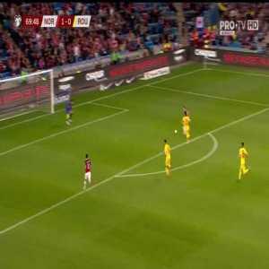 Norway [2] - 0 Romania - Ødegaard 70