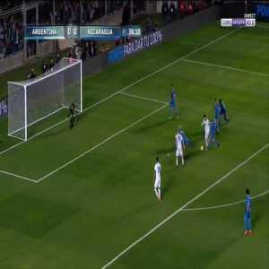 Argentina 1-0 Nicaragua - Lionel Messi 37'