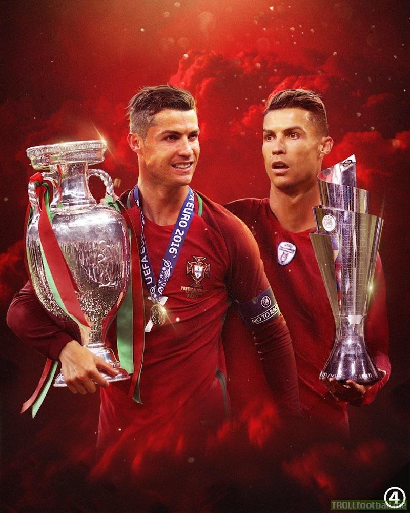 Cristiano Ronaldo for the Selecão de Portugal: 157 Caps 88 Goals 37 Assists 🏆 European Championship Winner 🏆 UEFA Nations League Winner