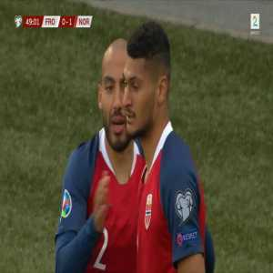 Faroe Islands 0 - [1] Norway - Bjørn Johnsen