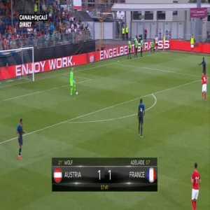 Austria U21 [2]-1 France U21 - Hannes Wolf 58'