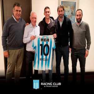 Racing sign Paraguay-international Matías Rojas from Defensa y Justicia