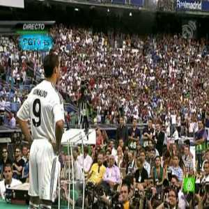 Today marks 10 years since Cristiano Ronaldo's presentation as new Real Madrid player to a near packed Santiago Bernabéu in 2009