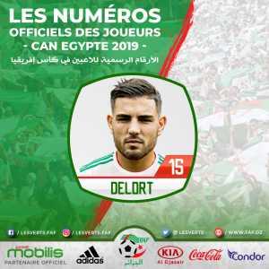 Andy Delort has been called up to the Algerian NT, replacing Haris Belkebla.
