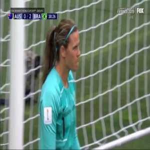 Australia W 0-[2] Brazil W - Cristiane 38'