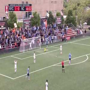 New York City 2-0 North Carolina - Jesus Medina 45'+2'