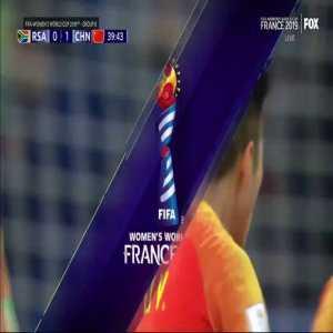 South Africa W 0-[1] China W - Li Ying 40'