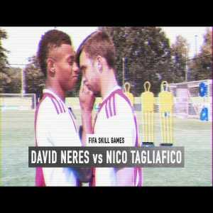 David Neres vs Nico Tagliafico FIFA skill game battle