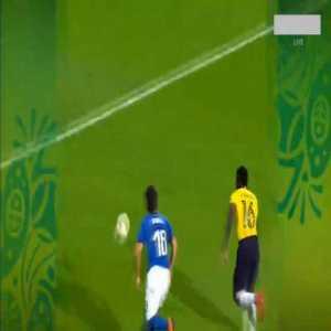 Ramirez Preciado (Ecuador U20) penalty save against Italy U20 95'
