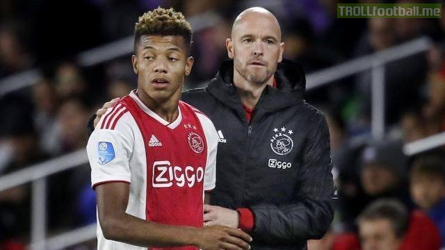 "Ajax forward David Neres: ""Erik ten Hag (coach) once complained about my hair. I told him to take care of his own hair, and I'll take care of mine. He benched me for the next two games."""