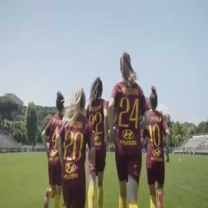 AS Roma neatly promoting women's football