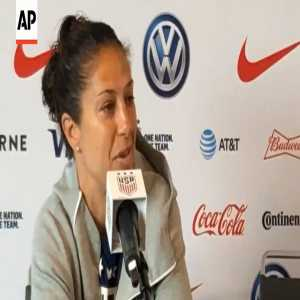 """Carli Lloyd: """"You've got to feel for a goalkeeper letting in 13 goals. If you don't, then I don't think you have much of a heart. """""""
