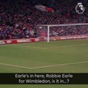 Robbie Earle shocked Arsenal with a moment of brilliance  GoalOfTheDay