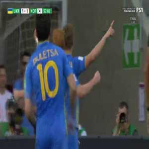 Ukraine 2-1 Korea Republic - Vladyslav Supriaga 53'