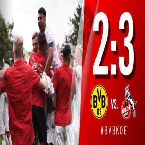 1. FC Köln wins the Under 17 Bundesliga