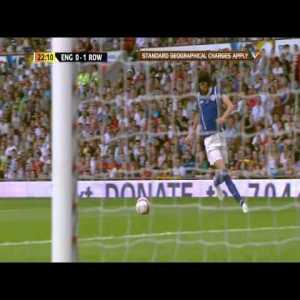 Ahead of Soccer Aid tonight, throwback to Soccer Aid 2012 when Kasabian lead guitarist Serge Pizzorno scored this brilliant chip over David Seaman at Old Trafford