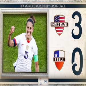 United States advances to the Round of 16 in the Women's World Cup