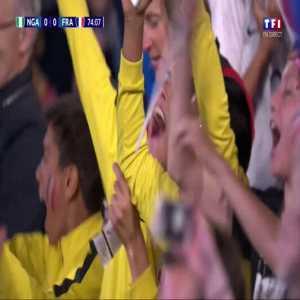 Nigeria W 0-1 France W - Renard 79'👎+ Ebere second yellow