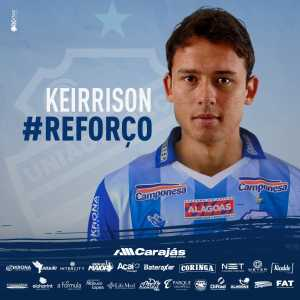 Official: Centro Sportivo Alagoano (currently 19th in Brasileiro Série A) have signed ex-Barcelona, Benfica, and Fiorentina striker Keirrison.
