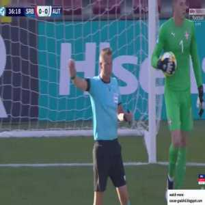 Serbia U21 0-1 Austria U21 - Hannes Wolf