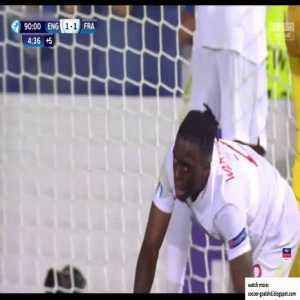 England U21 1-2 France U21 - Wan-Bissaka OG