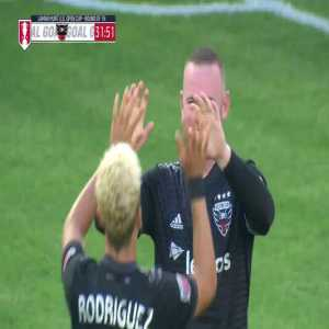 DC United [1]-0 New York City FC - Wayne Rooney 32' | US Open Cup