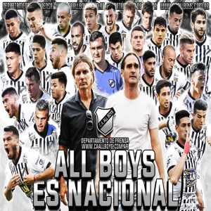 C.A All boys has been promoted to the Argentine 2nd division