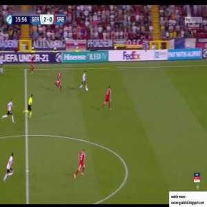 Germany U21 3-0 Serbia U21 - Waldschmidt 37'