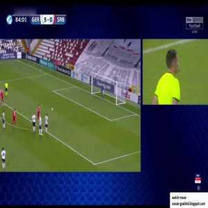 Germany U21 5-1 Serbia U21 - Zivkovic penalty 85'