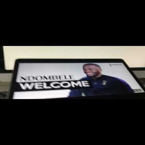 Ndombele is coming to Tottenham