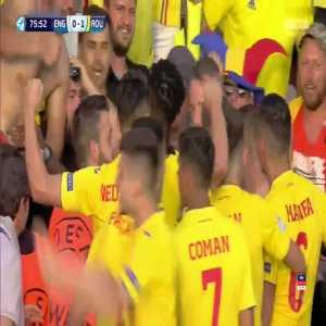 England U21 0-1 Romania U21 - George Puscas penalty +Call 77'