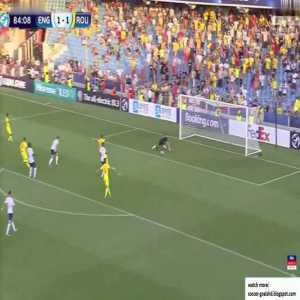 England U21 1-2 Romania U21 - Ianis Hagi 85'