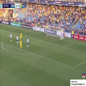 England U21 2-3 Romania U21 - Florinel Coman 88'