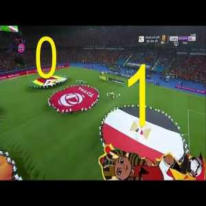 Seens from AFCON 2019 opening ceremony in Egypt today & Egypt vs Zimbabwe match