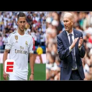 Zinedine Zidane talks Eden Hazard & Luka Jovic's roles and facing Atletico Madrid in New York | ICC