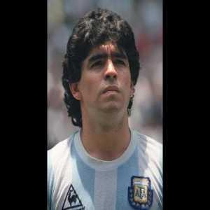 """33 years ago today, Maradona scored both """"La mano de Dios"""" and """"El Gol del Siglo"""" at the 1986 World Cup"""