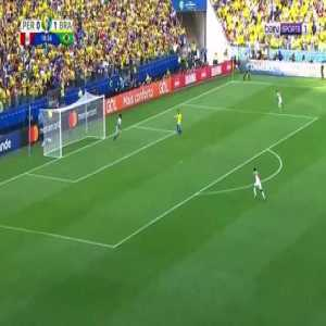 Roberto Firmino Goal - Peru 0 vs 2 Brazil