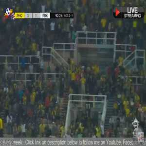 Herald Goulon goal for Pahang FA vs Perak FA in Malaysia's FA Cup 2019 first leg semifinals. Pahang won with 3-1. Goulon scored two goals and won the MotM award.