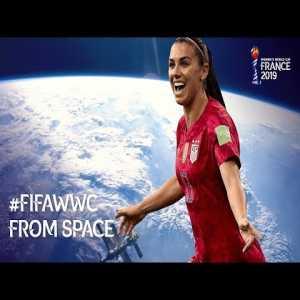NASA astronauts are watching the Women's World Cup on the International Space Station