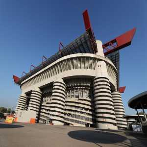 The San Siro set to be demolished. The Milan clubs looking to share a new one near by 2022.